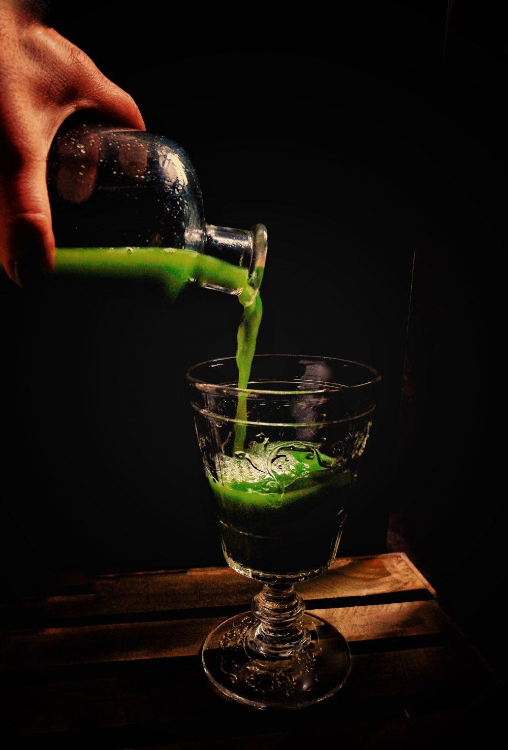 Skin tonic: celery cucumber apple